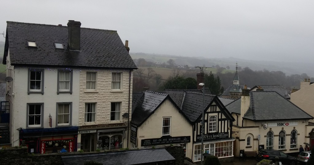 Hay on Wye, Gales, Reino Unido, enero 2016