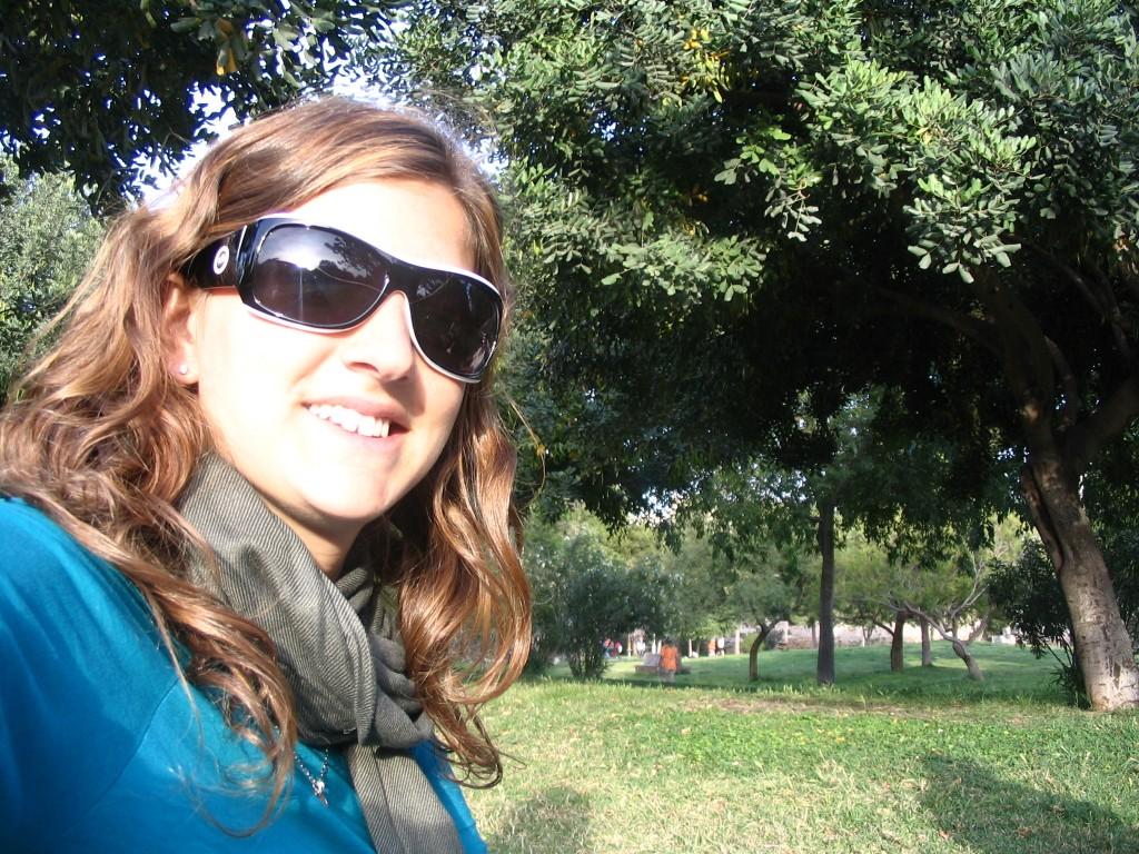 @rominitaviajera en el Jardín Botánico, Valencia, España, 2008