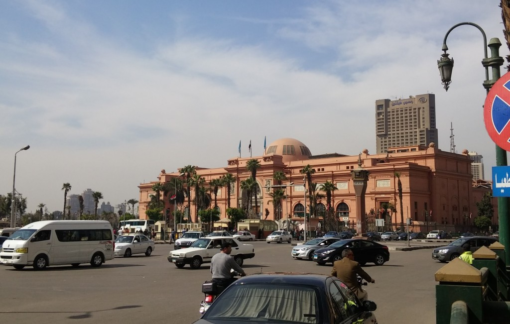 Museo de Egipto, Plaza Tahrir, El Cairo, Egipto, marzo 2016 | viajarcaminando.org