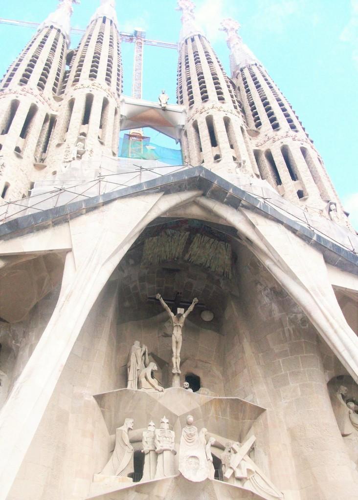 La Sagrada Familia, Barcelona, marzo 2011