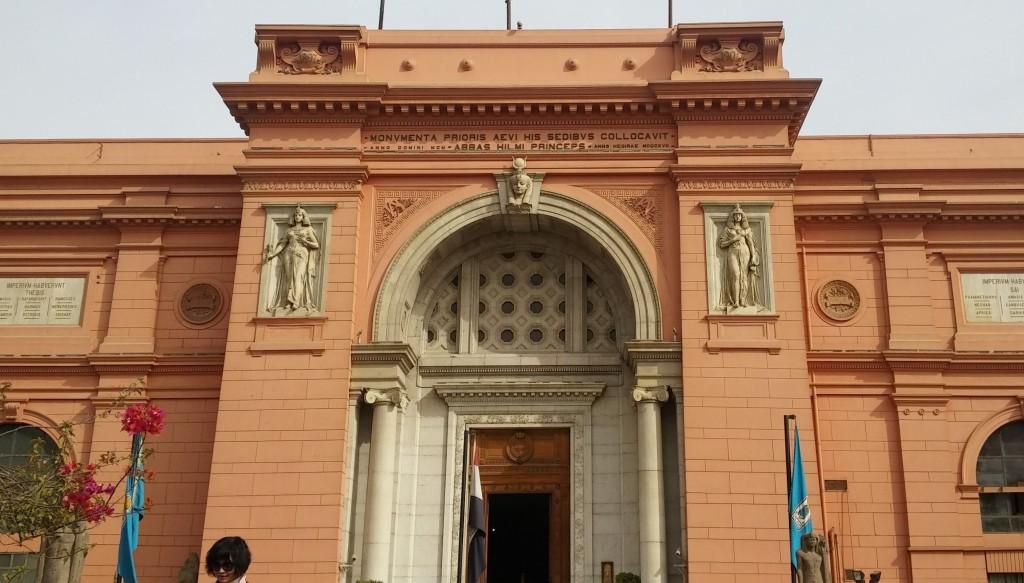Museo egipcio, El Cairo, Egipto, marzo 2016