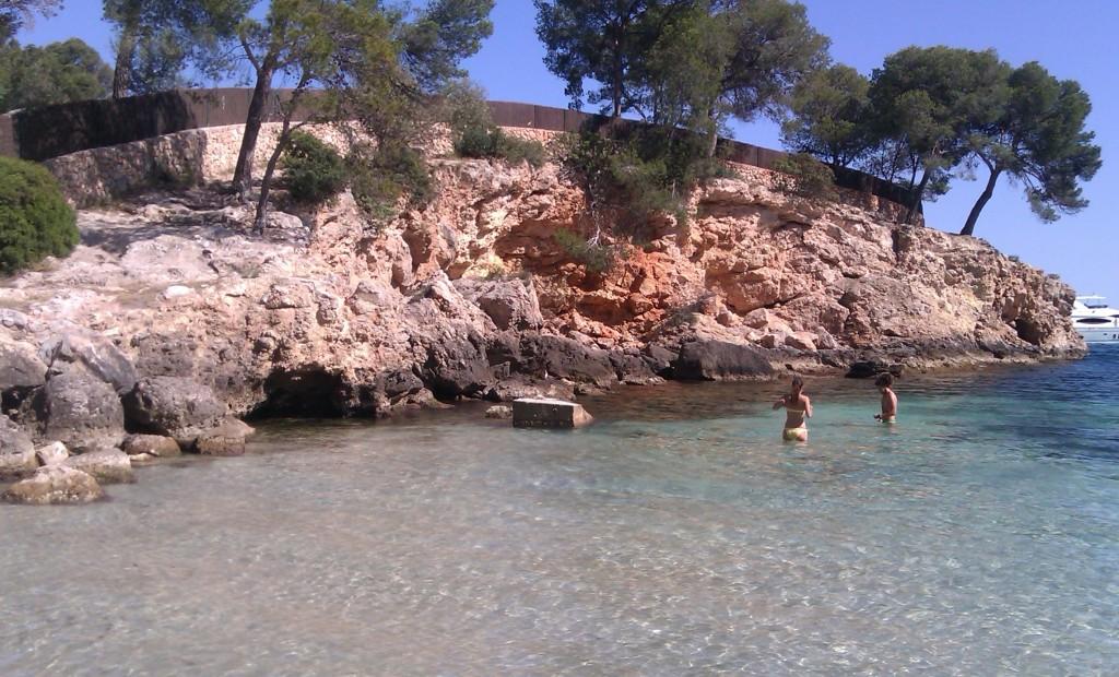 Playas de Calviá, Mallorca, España, mayo 2013