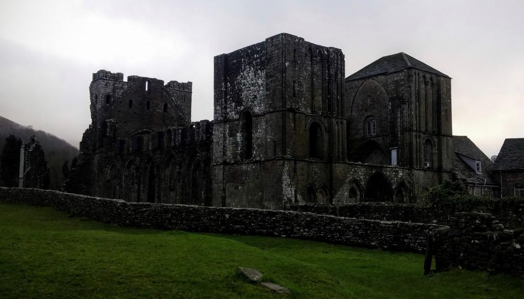 Priorato de Llanthony, Gales, Reino Unido, enero 2016