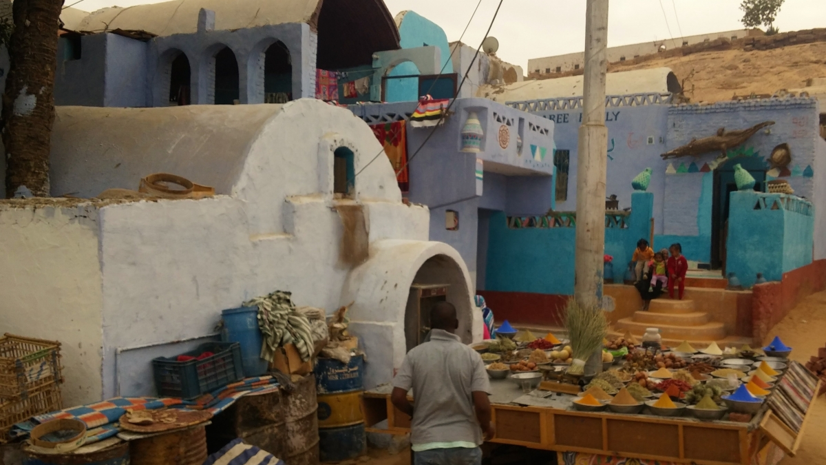 Pueblo Nubio, cerca de Asuán, Egipto, marzo 2016 | viajarcaminando.org