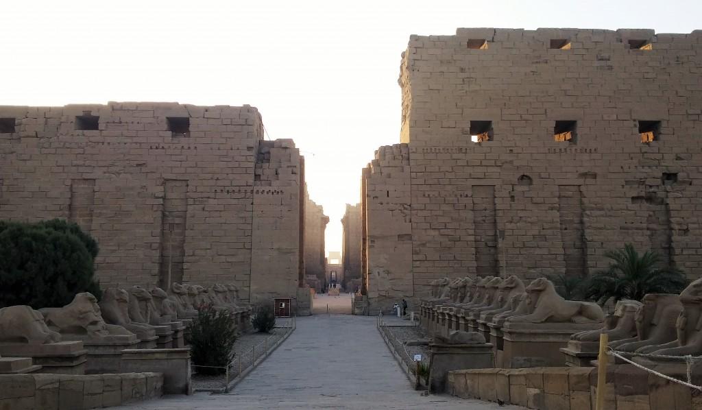 Templo de Karnak en Luxor Egipto, marzo 2016 | viajarcaminando.org