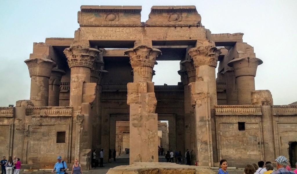 Templo de Kom Ombo, Asuán, Egipto, marzo 2016 | viajarcaminando.org