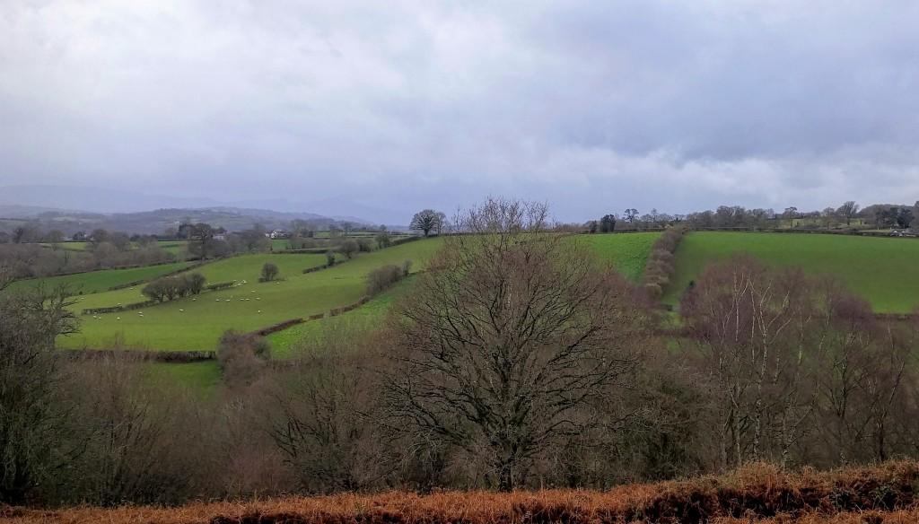 Vista de Breacon Beacons, Gales, Reino Unido, 2016