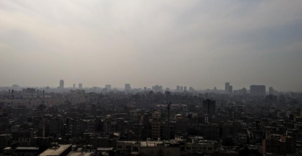 Vista panorámica desde la Ciudadela, El Cairo, Egipto, marzo 2016