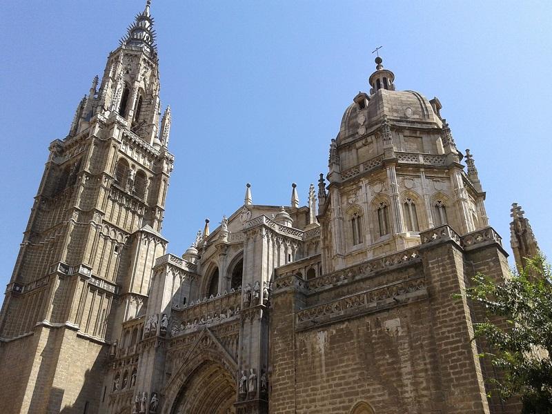 Catedral de Toledo, España, verano 2013 | viajarcaminando.org