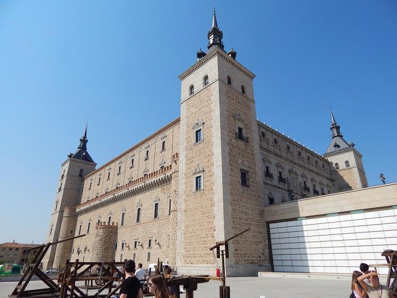 El Alzázar, Toledo, España, verano 2013 | viajarcaminando.org