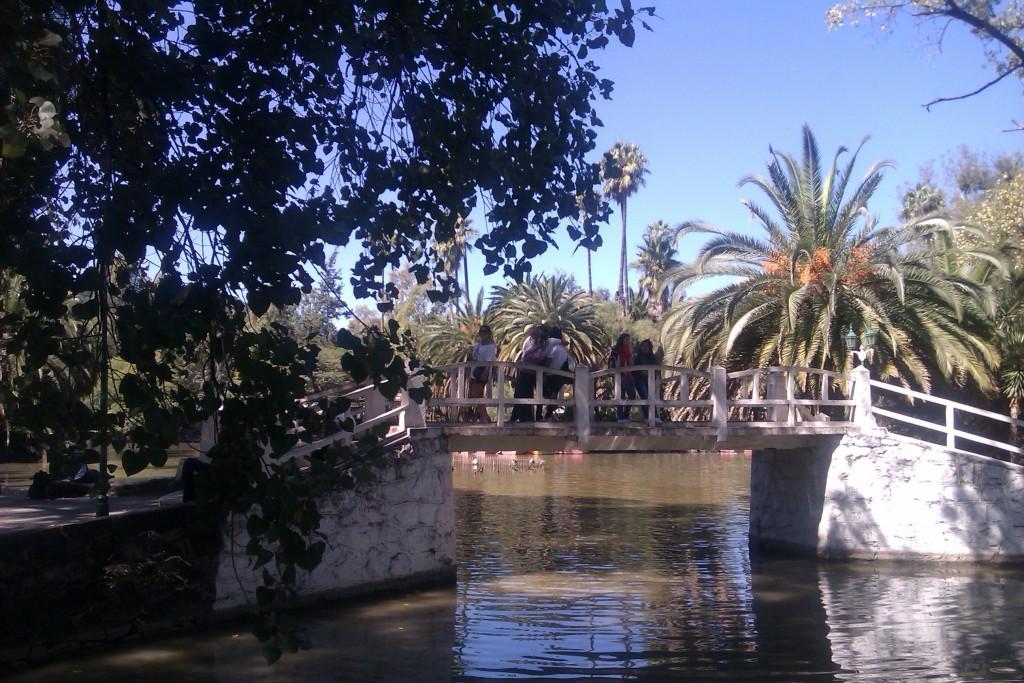 Parque San Martín en la Ciudad de Salta, Argentina, abril 2013 | viajarcaminando.org