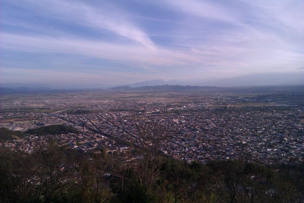 Vista panorámica de la ciudad de Salta, Argentina, abril 2013 | viajarcaminando.org