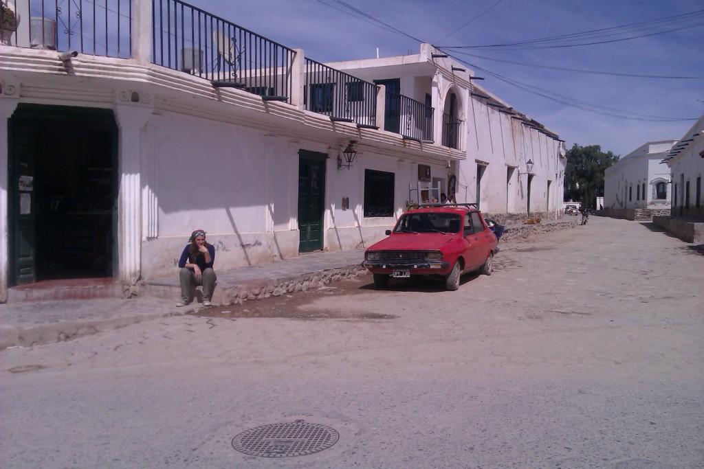@rominitaviajera en Cachi, Salta, Argentina, abril 2013 | viajarcaminando.org