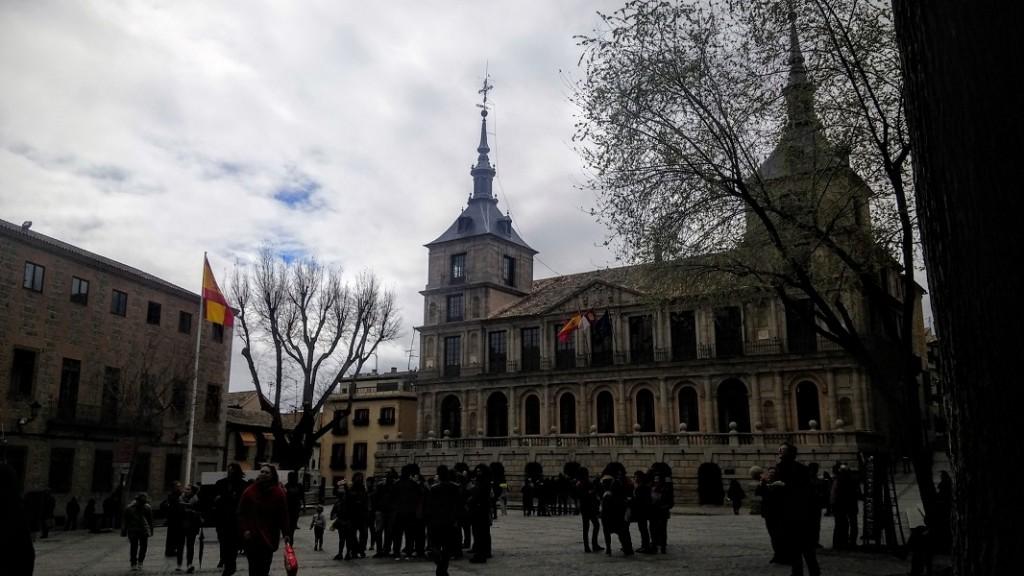 Plaza del Ayuntamiento, Toledo, España, abril 2016 | viajarcaminando.org