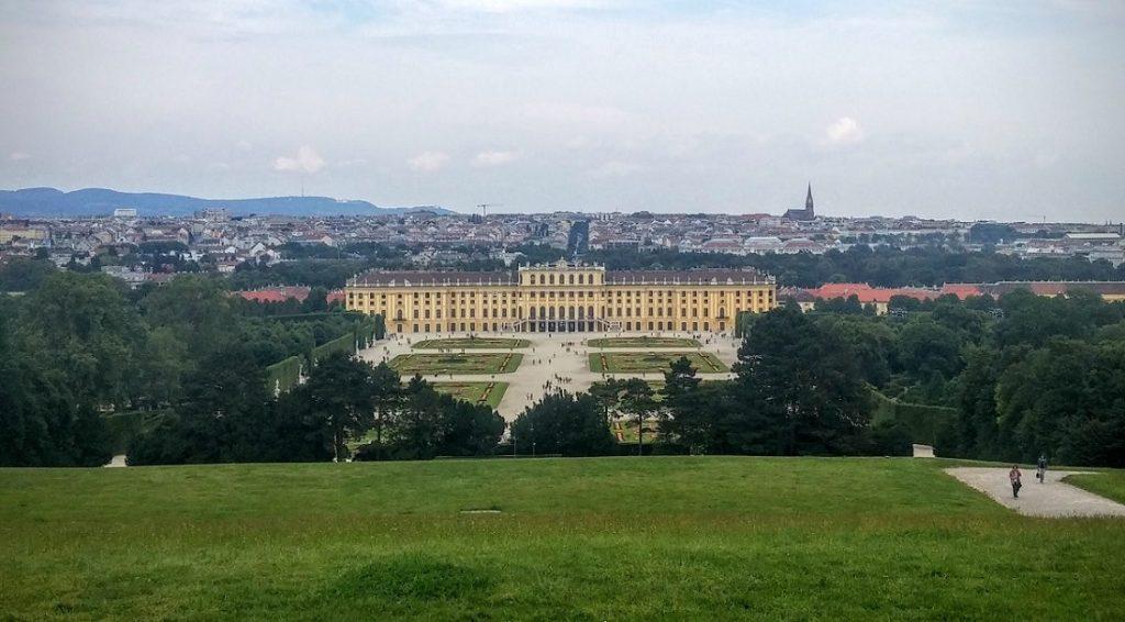 Palacio Schonbrunn, Viena, Austria, junio 2016 | viajarcaminando.org