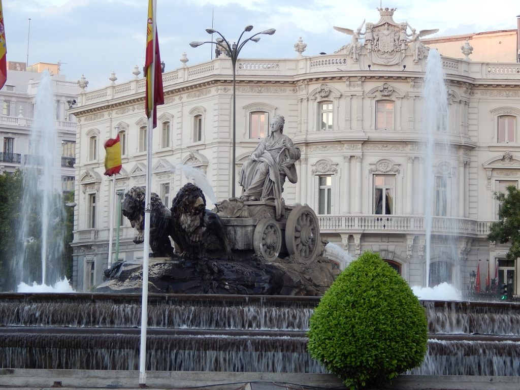 Plaza de Cibeles, Madrid, España, 2013 | viajarcaminando.org