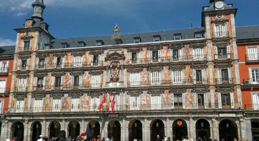 Plaza Mayor, Madrid, España, 2016 | viajarcaminando.org