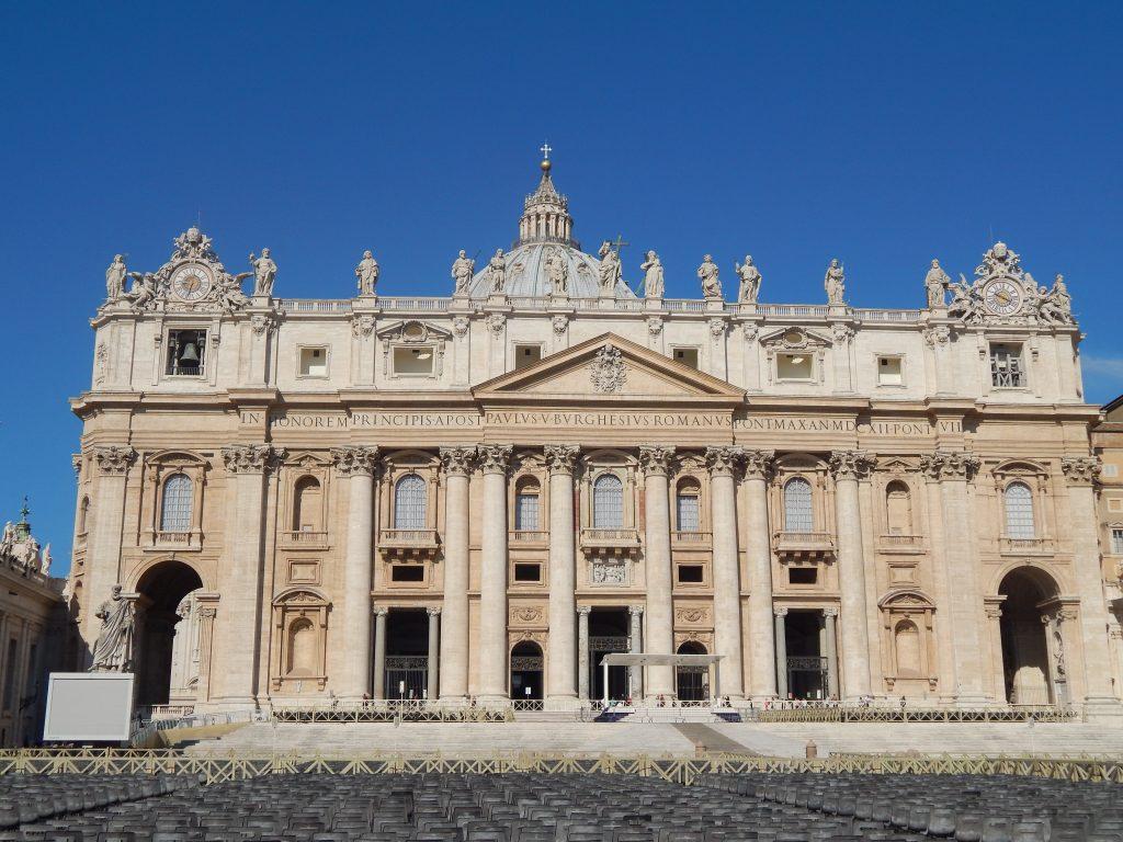 Basílica de San Pedro, Ciudad del Vaticano, 2013 | viajarcaminando.org