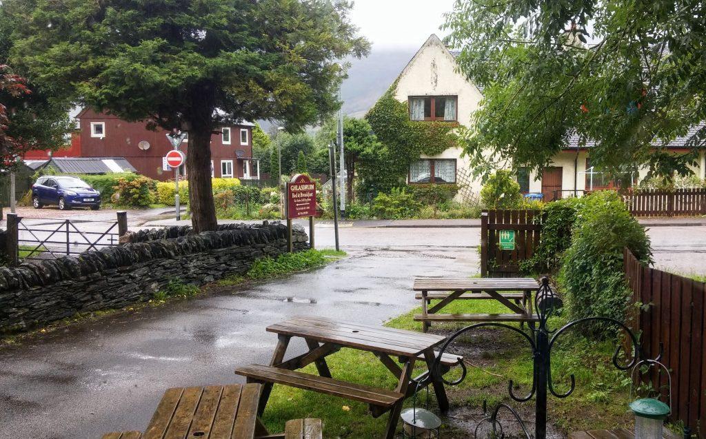 Café en Glencoe, Highlands, Escocia, agosto 2016 | viajarcaminando.org