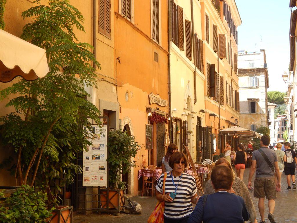 Caminando por el Trastevere, Roma, Italia, 2013 | viajarcaminando.org