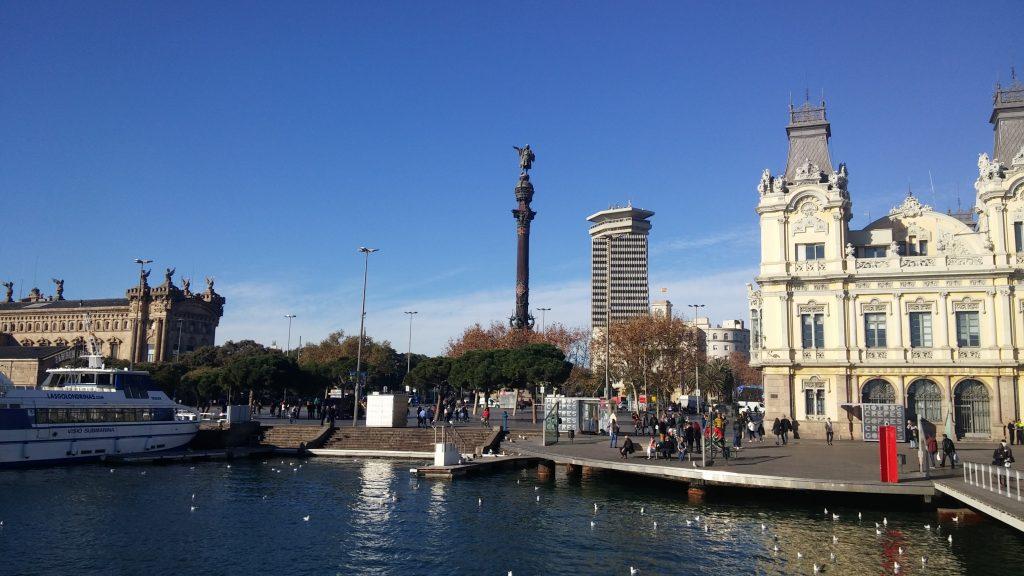 Mirador de Colom, Barcelona, 2016 | viajarcaminando.orgMirador de Colom, Barcelona, 2016 | viajarcaminando.org