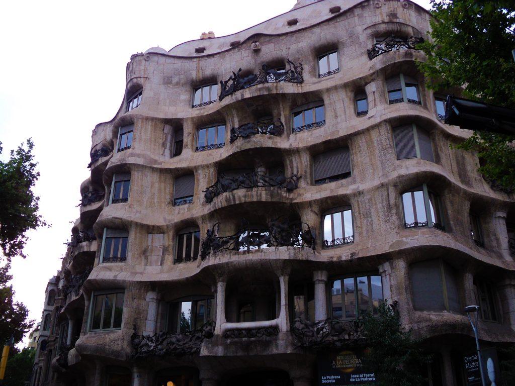 La Pedrera, Barcelona, 2013 | viajarcaminando.org