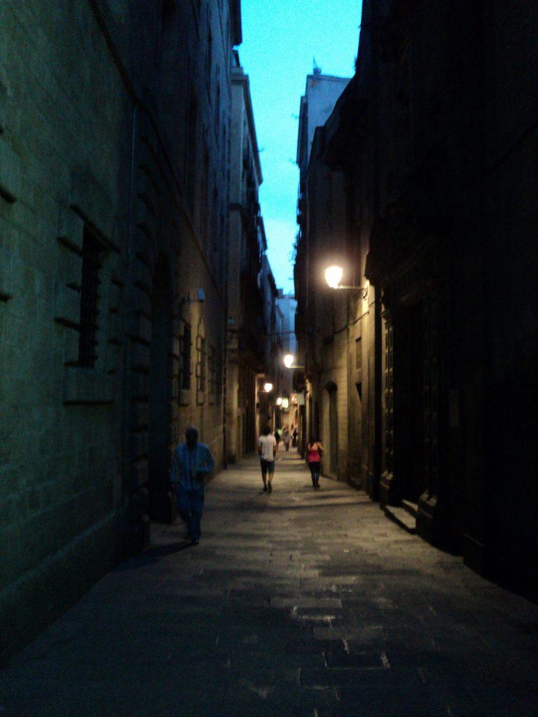 Barrio Gótico, Barcelona, 2013 | viajarcaminando.org
