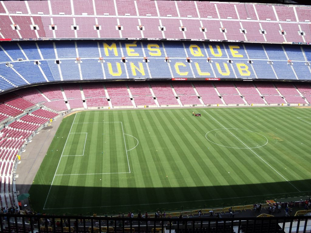 Camp Nou, Estadio de fútbol, Barcelona, 2013 | viajarcaminando.org