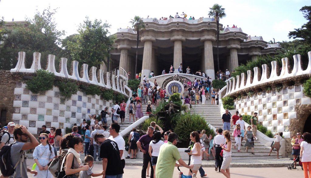 Parque Güell, Barcelona, 2013 | viajarcaminando.org