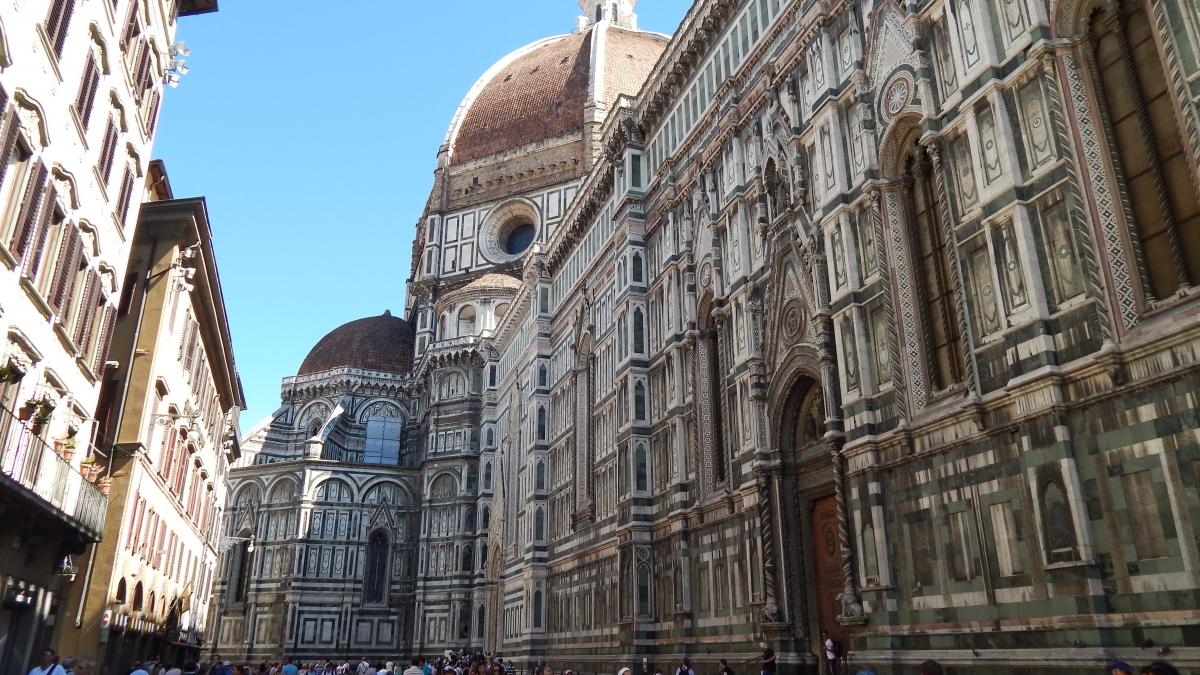 Plaza del Duomo, Florencia, Italia, 2013   rominitaviajera.com
