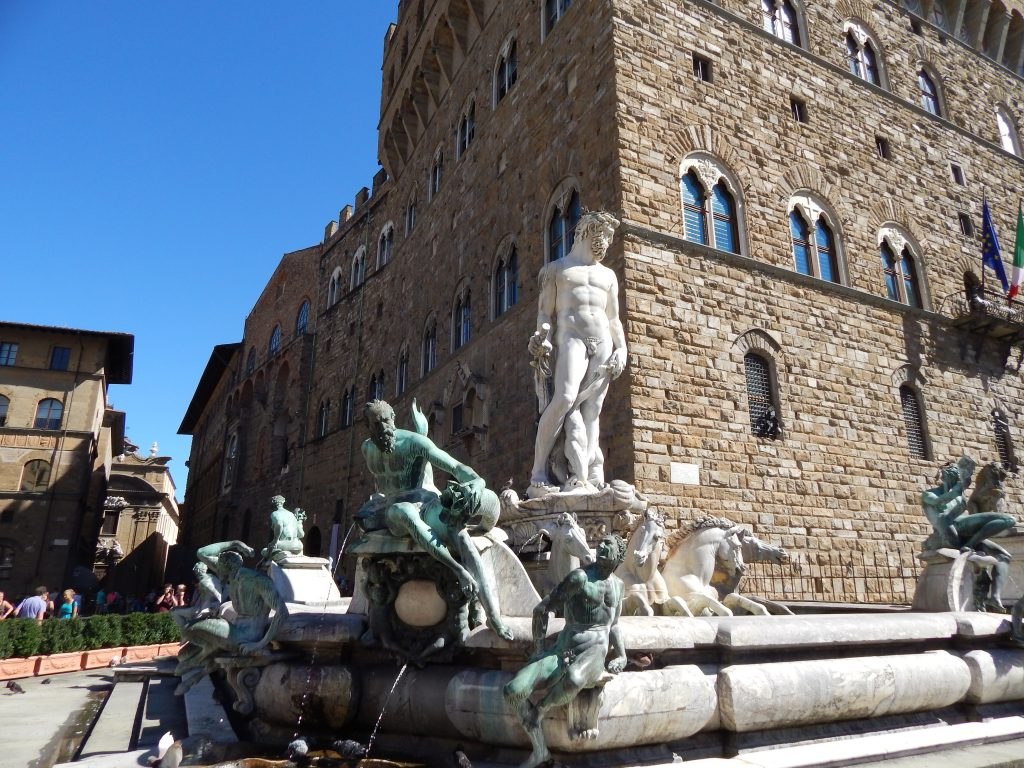 Fuente de Neptuno, Piazza Siniora, Florencia, Italia, 2013 | rominitaviajera.com