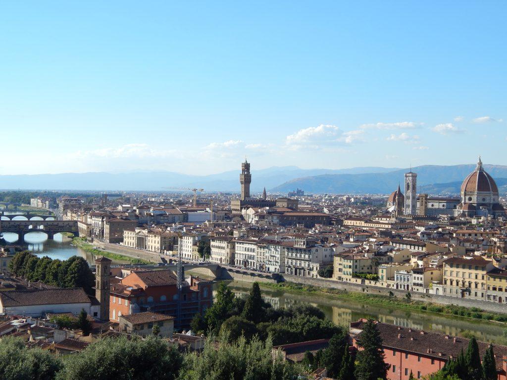 Vistas desde el Michelangelo, Florencia, Italia, 2013 | rominitaviajera.com
