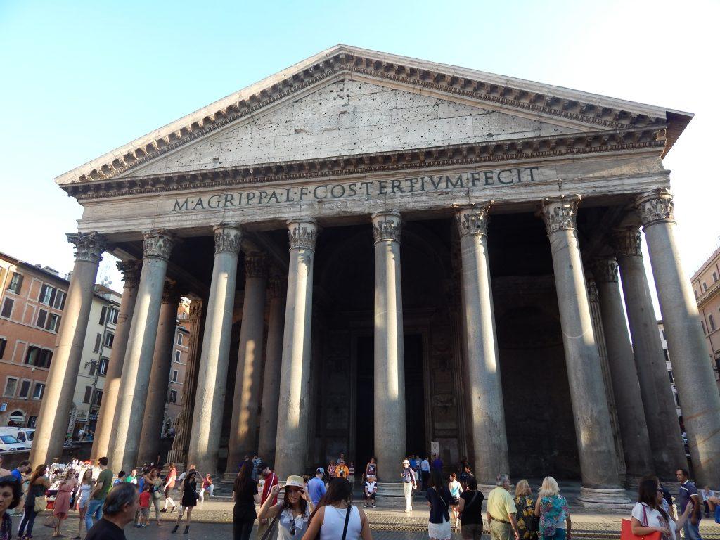 El Panteón de Adriano, Roma, Italia, 2013 | viajarcaminando.org