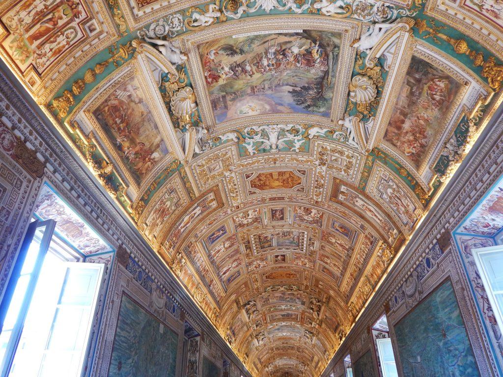 Frescos del Museo Vaticano, Ciudad del Vaticano, 2013