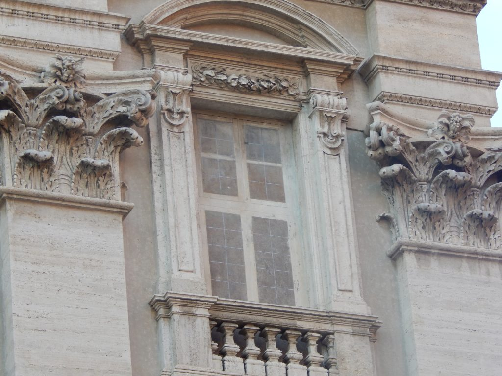 Ventana falsa de la Fontana di Trevi, Roma, Italia, 2013 | rominitaviajera