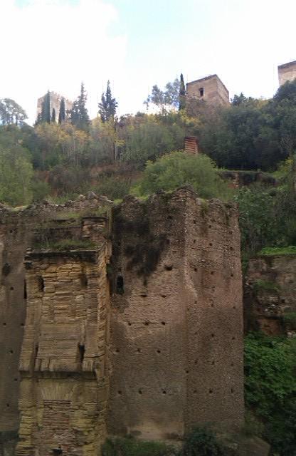El Bañuelo, edificio histórico, Granada, España, 2010