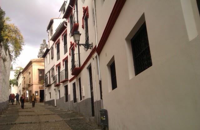 Cuesta San Gregorio, Barrio Albaicín, Qué ver en Granada, 2010