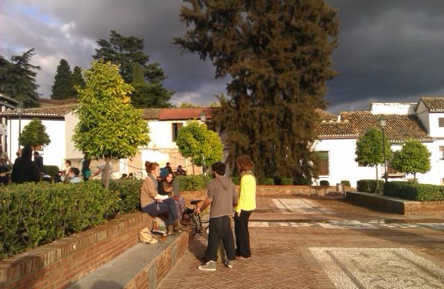 Mirador de San Nicolás, Granada, España, 2010