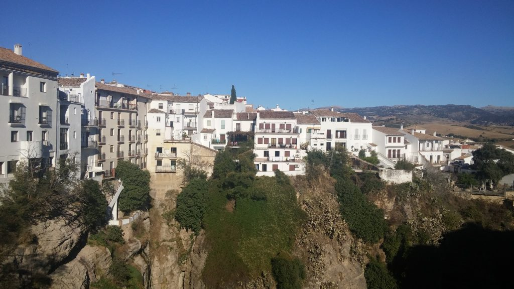 Vistas del pueblo desde el Balcón, Ronda, Málaga, España, 2016 | rominitaviajera.com