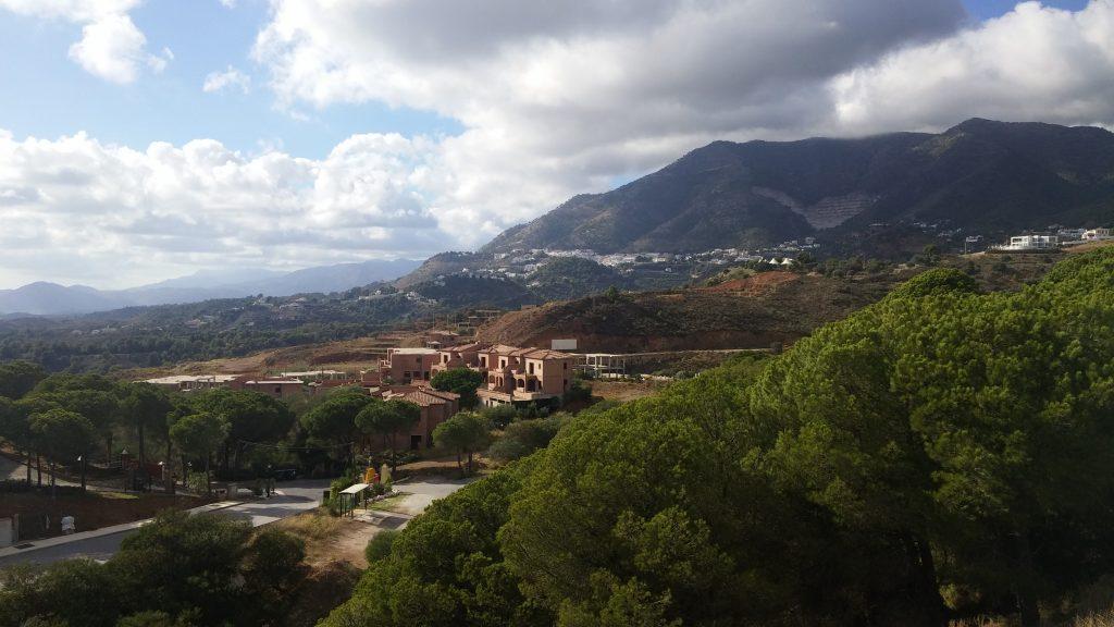Vistas desde nuestro alojamiento en Buenas Vistas, Mijas, Málaga, España, 2016 | rominitaviajera.com
