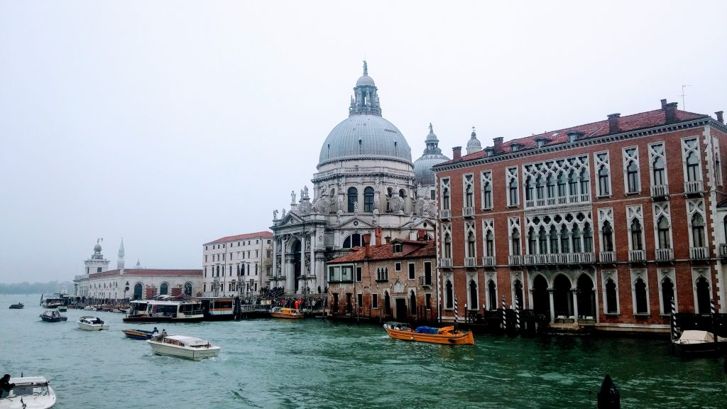 Vistas de la Basílica de Santa María de la Salud, Venecia, Italia, 2016 | rominitaviajera.com