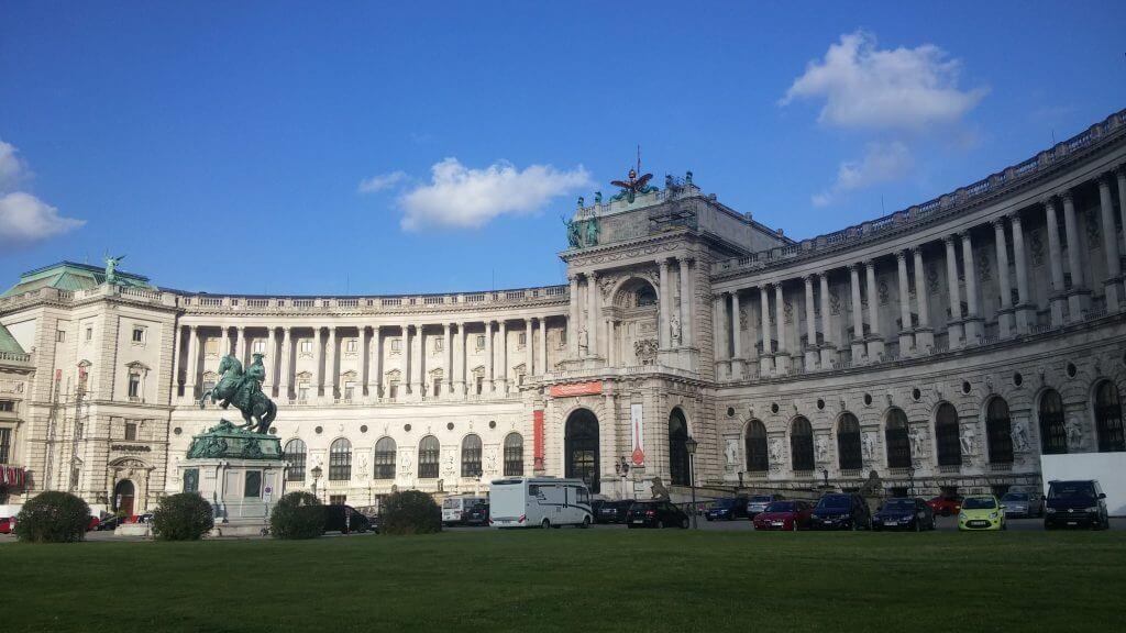 Palacio de Viena, Austria, junio 2016