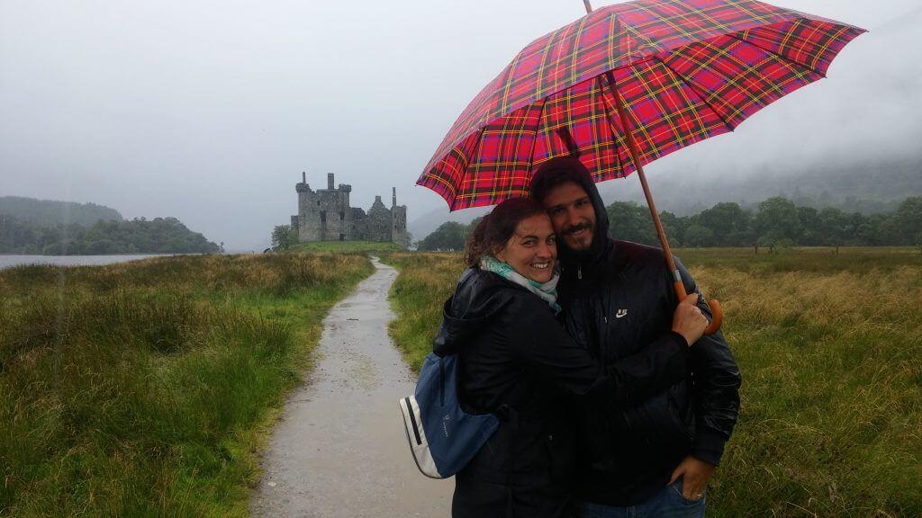 Castillos de Escocia, Agosto 2016