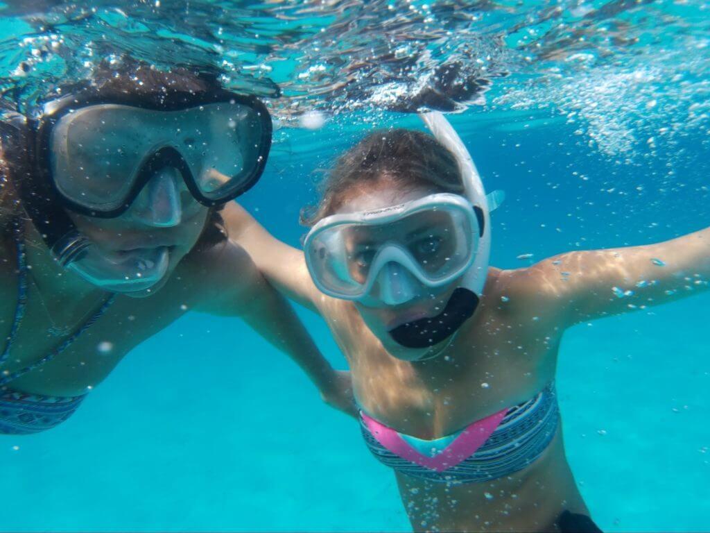 Snorkelling en Strenc, Mallorca, agosto 2016