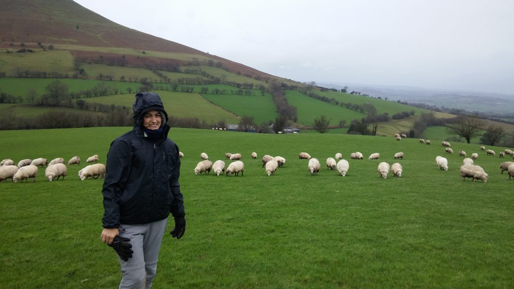 De excursión a los Brecon Beacons, Gales, enero 2016