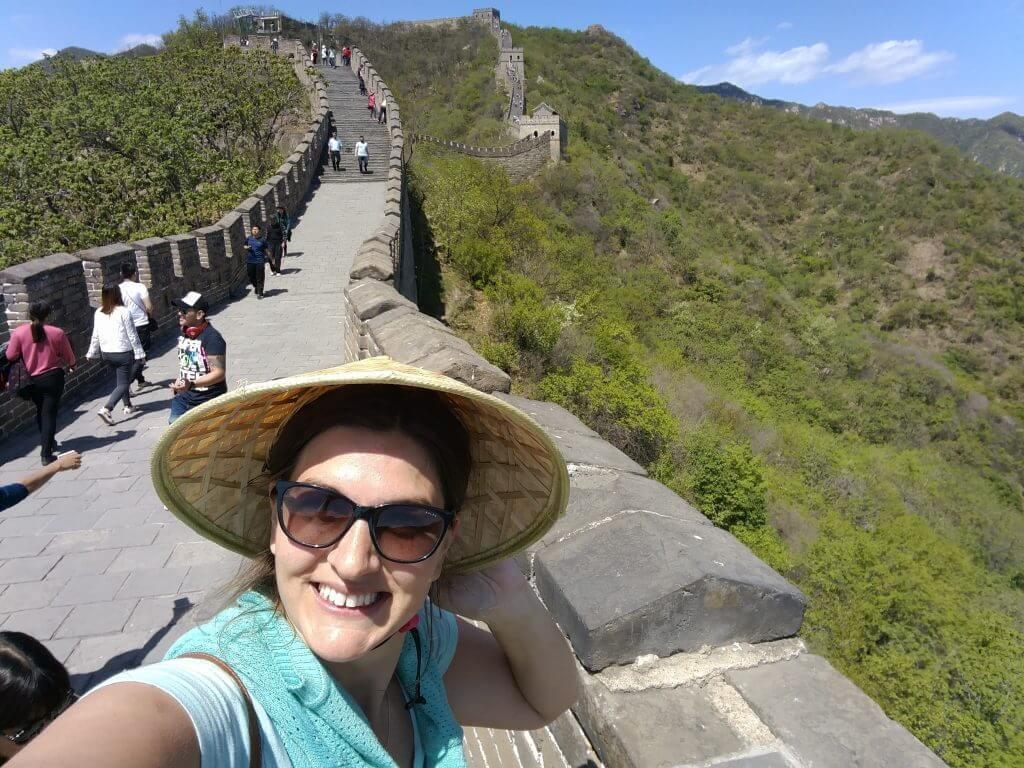 @rominitaviajera en la Muralla China Mutianyu, Pekín, China, 2017