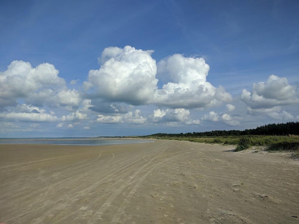 Playa de Hirtshals, Dinamarca, 2017, rominitaviajera.com