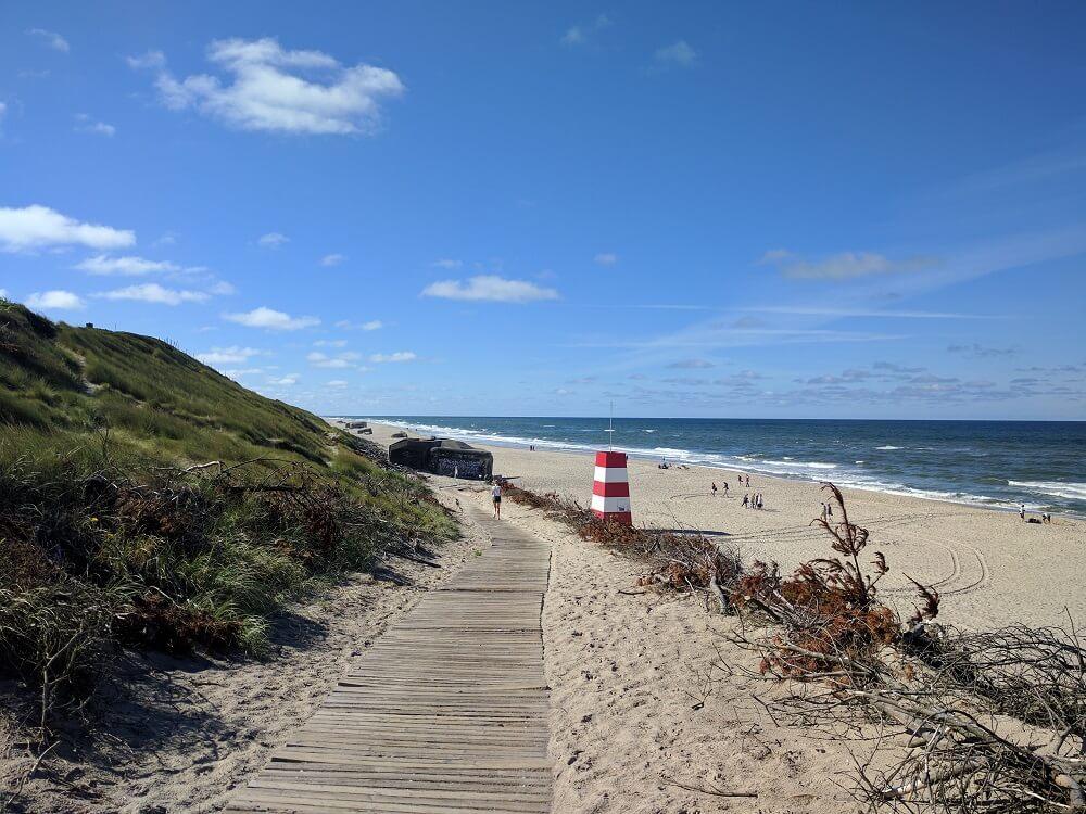 Playa de Sondervig, Dinamarca, 2017, rominitaviajera.com