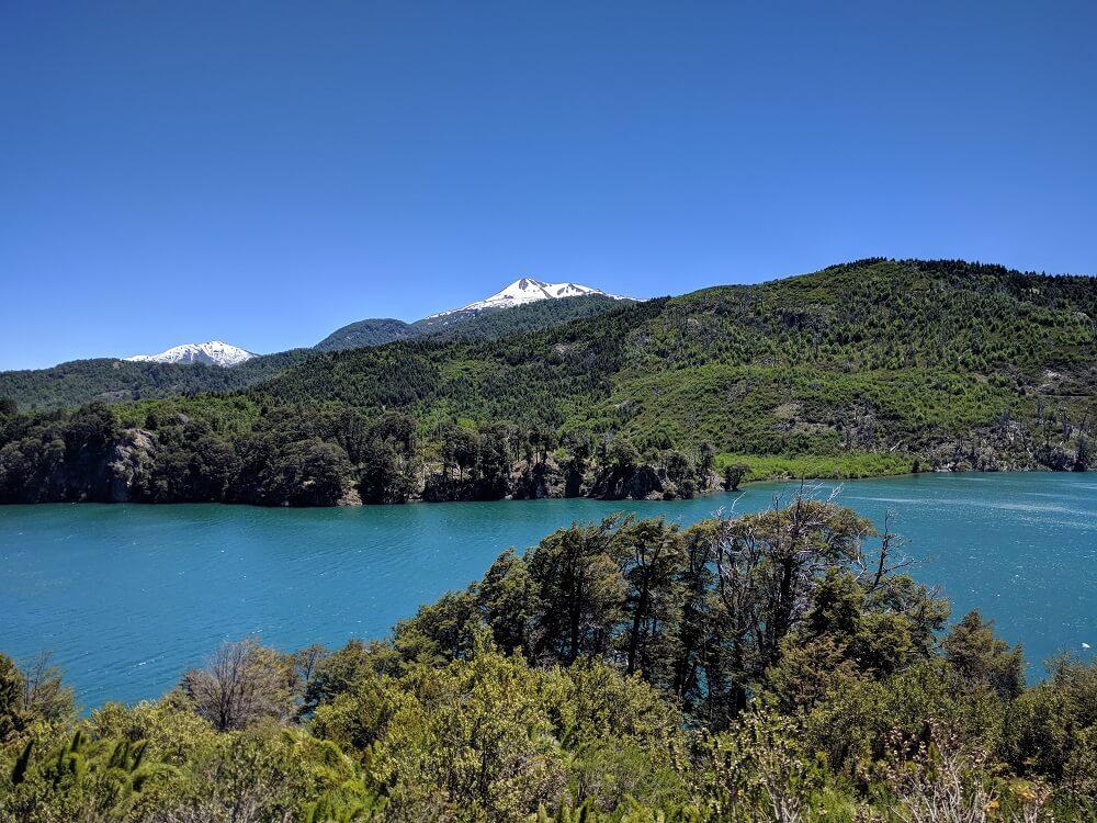 Lago Machónico, Ruta de los 7 Lagos, Argentina, Noviembre 2017