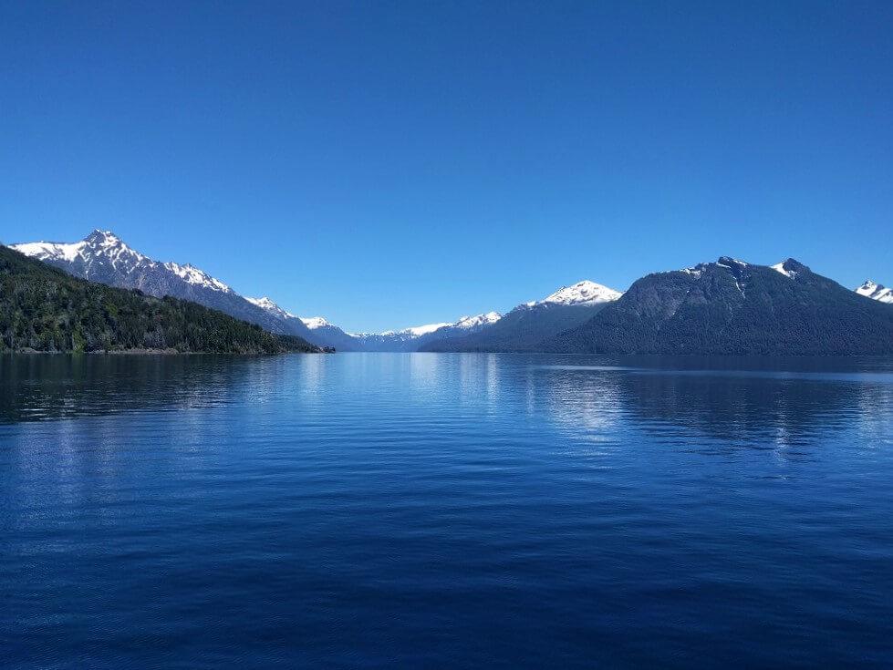Lago Nahuel Huapí, Bariloche, Argentina, noviembre 2017